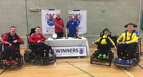 Tayside Dynamos Power Soccer Team