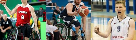 U23 Wheelchair Basketball players