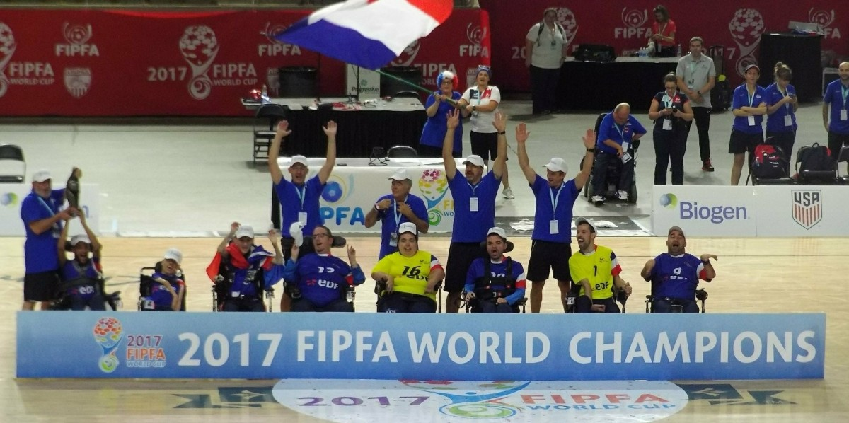 2017 FIPFA World Cup Blog #5: France Wins The Third World Cup!!