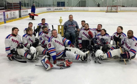 New York Rangers w/ A Tier II Trophy