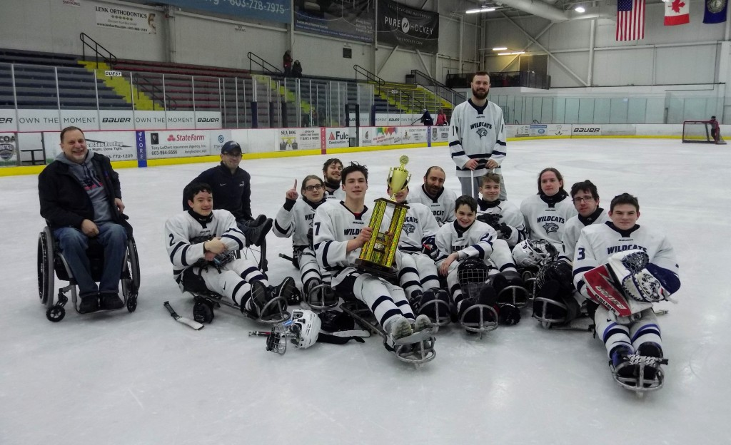 Northeast Passage Wildcats with B Tier II Conference Trophy
